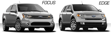 Ford Focus and Ford Edge