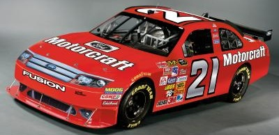 Wood Brothers #21 Ford Fusion